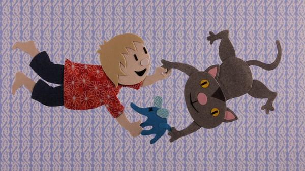 Finsk animasjonsserie. Lalla og hans bestevenn, katten Mix, får ofte besøk av fantasifigurer når de leker sammen.