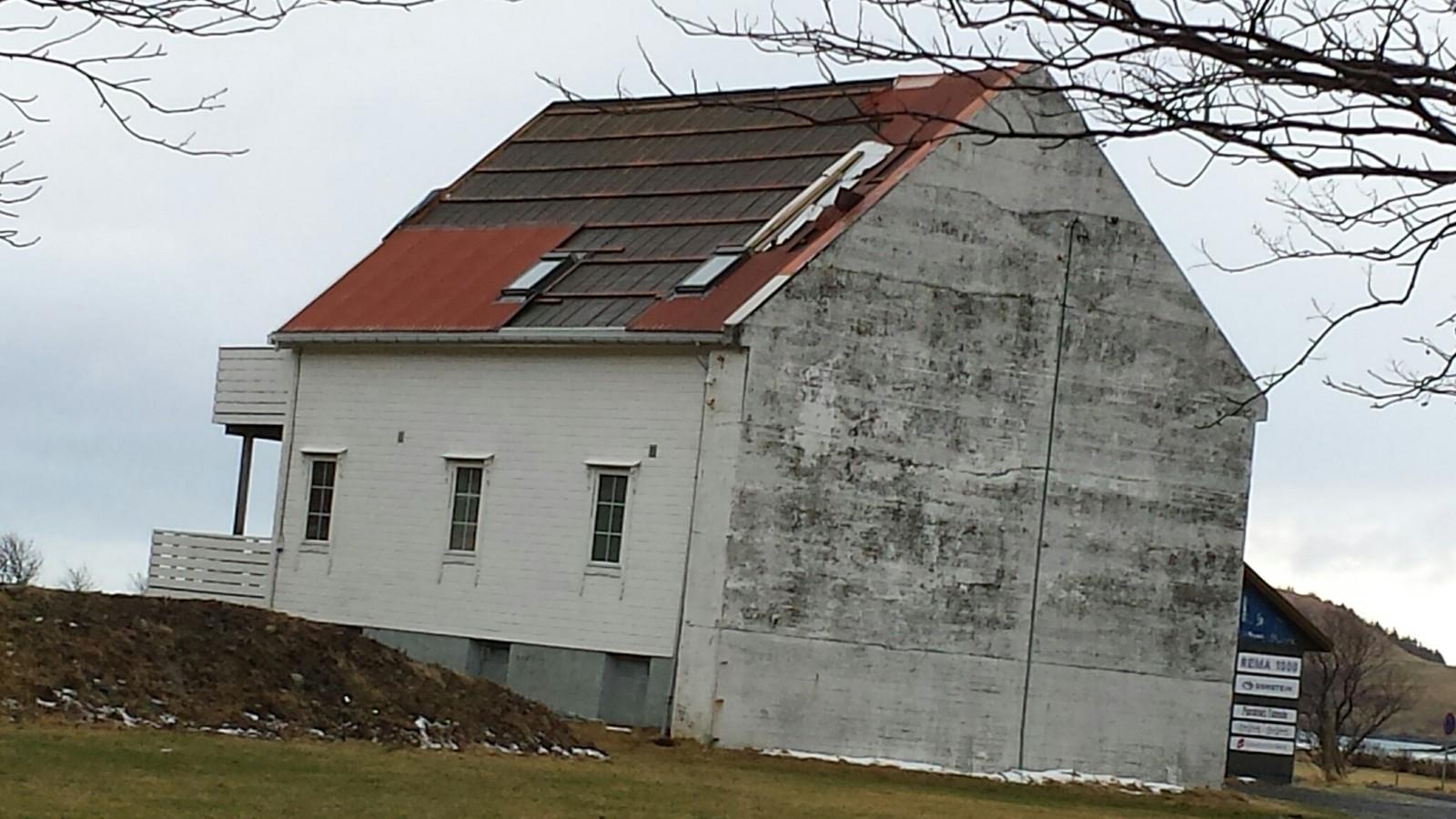 Lensmannsgarden i Refvik i Vågsøy.