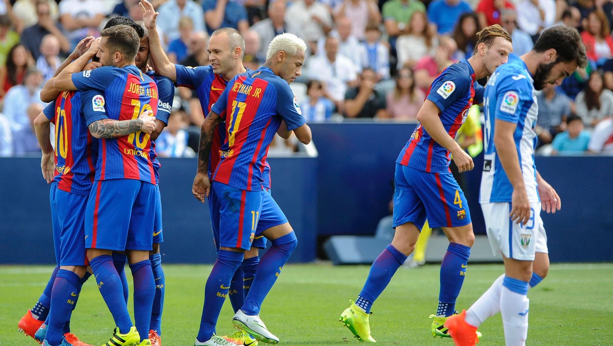 Watch Leganes vs Barcelona full match replay La Liga 20182019 Week 6 Wednesday 26 September 2018