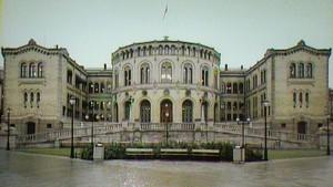 Blikk på monumentalbygg i Oslo