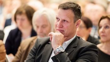 Idrettspresident Tom Tvedt