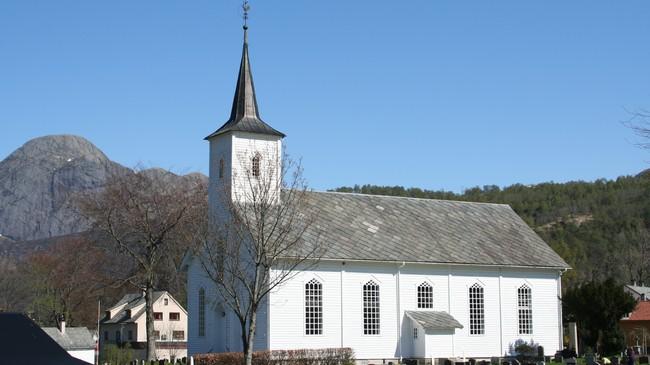 Dale kyrkje. Foto: Ottar Starheim, NRK.