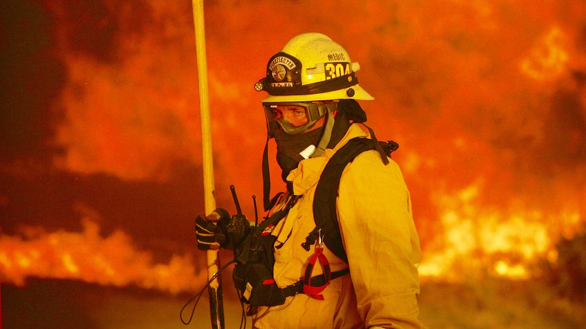APTOPIX California Wildfires - Foto: Stan Lim/Ap