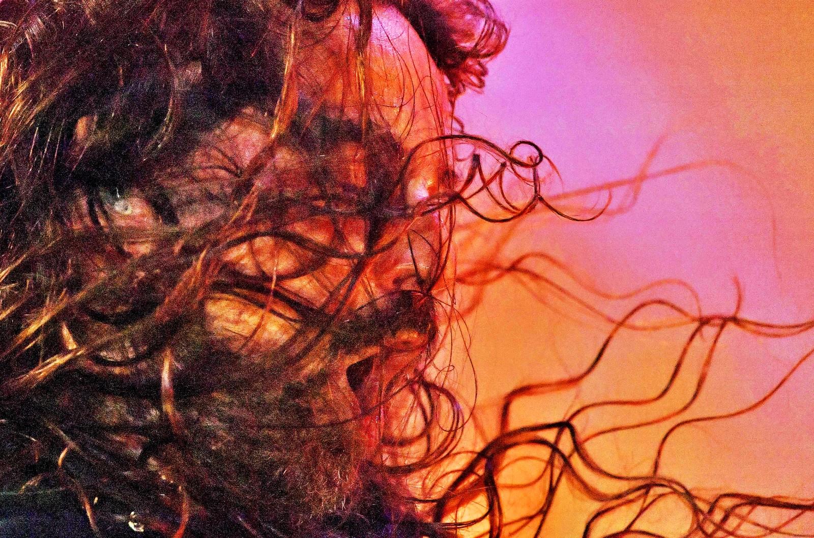 Gitaristen Andreas Kisser i Sepultura spilte i hjemlandet under festivalen Rock in Rio.