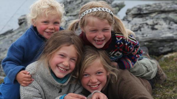 Villmarksbarna - Foto: Lars Krempig