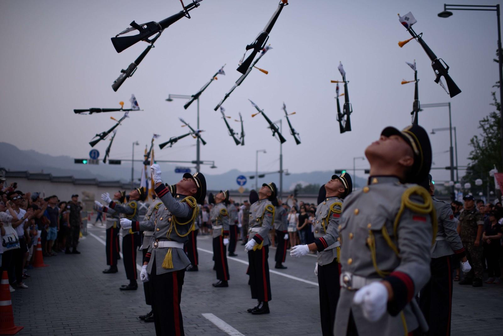 Også Sør-Korea feiret seg selv denne uka; 70 år med uavhengighet fra Japan.