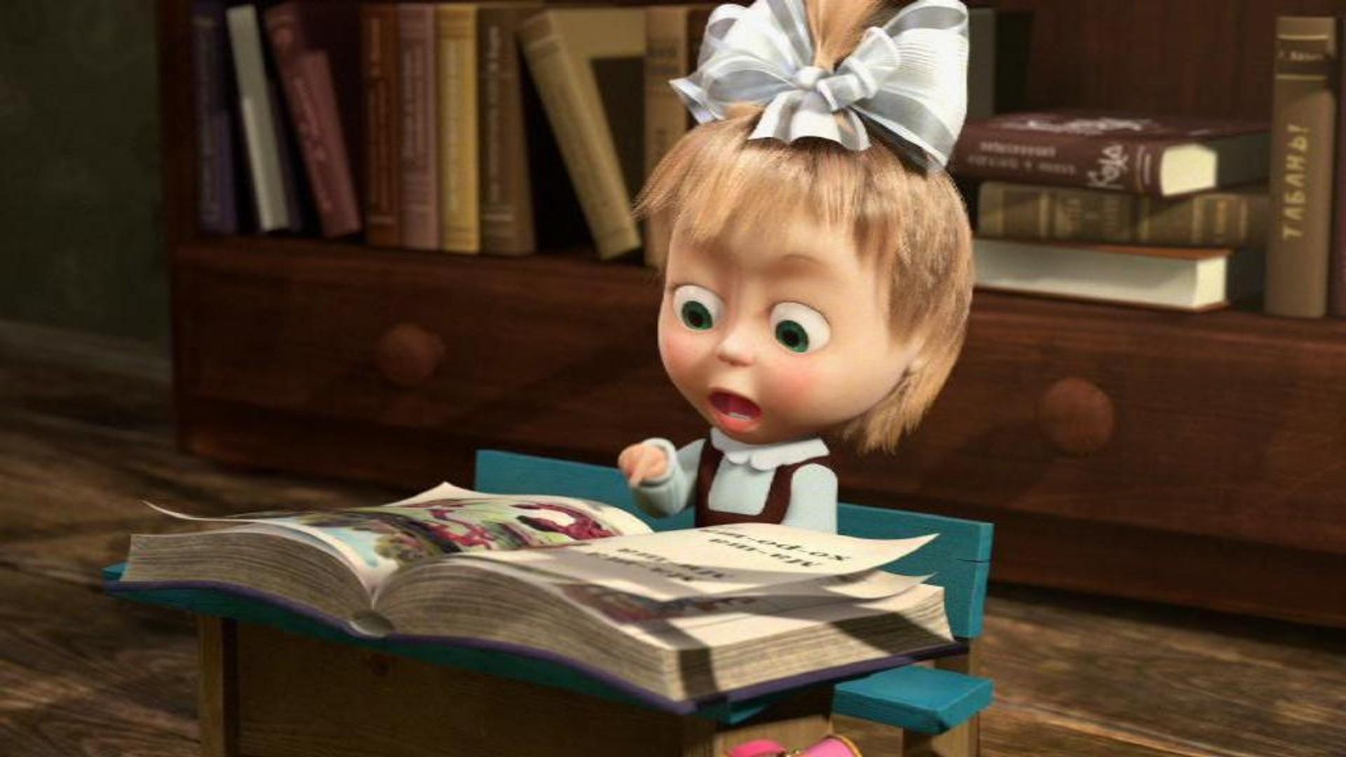 мамой картинка маша читает мастер-классы изготовления поделок