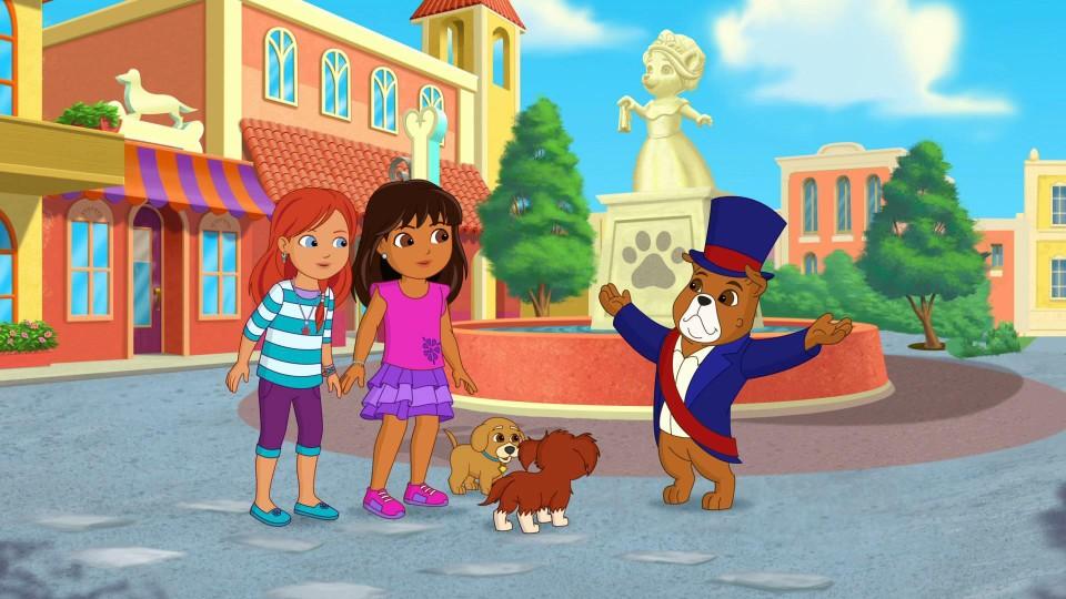 Dora og vennene