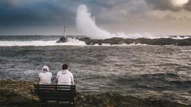 SOGNDALSTRAND: Da stormen «Knud» rev i som verst, ble det målt orkan helt sør i Rogaland. Her ble det ikke varslet ekstremvær. Det kraftigste vindkastet ble målt til 43,1 meter per sekund. Det gjorde Rogaland til fylket med høyest vindstyrke under uværet.