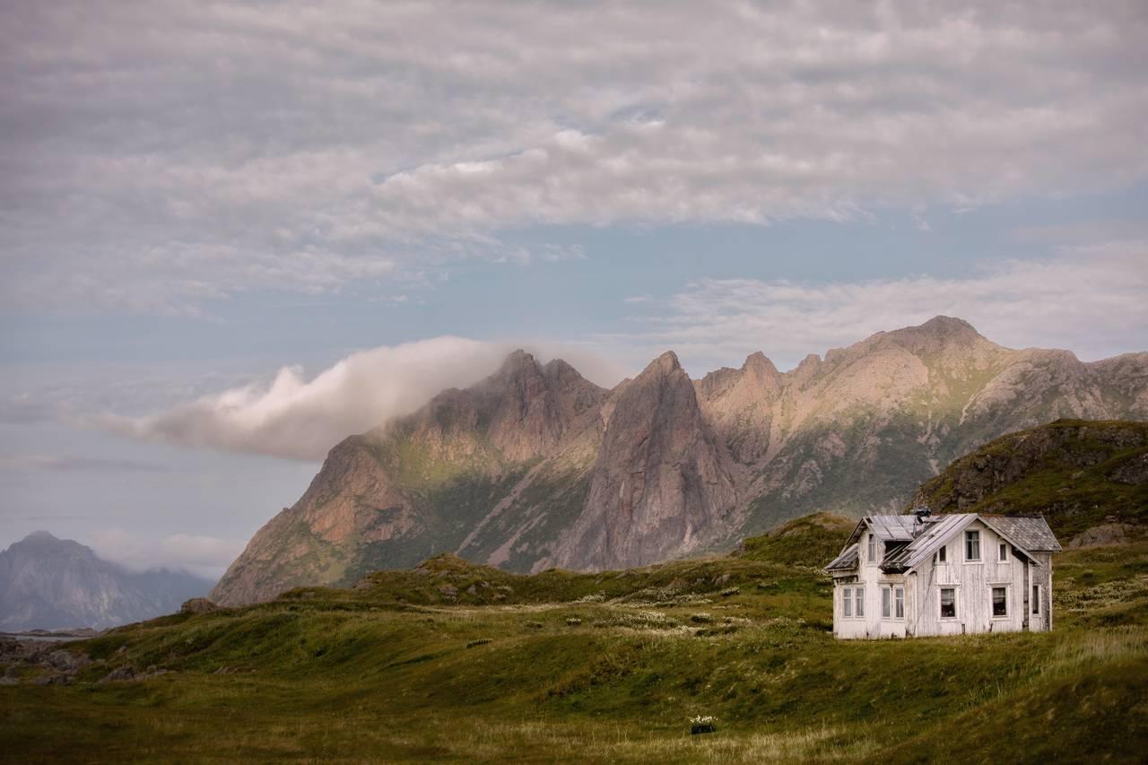 Forlatt hus i Nord-Norge