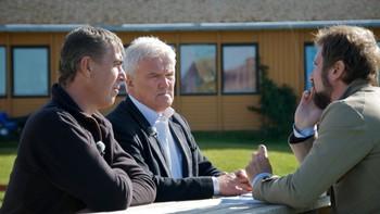Dag Olsen og Bjørn Fridfeld intervjues av Håkon Haugsbø, Brennpunkt.