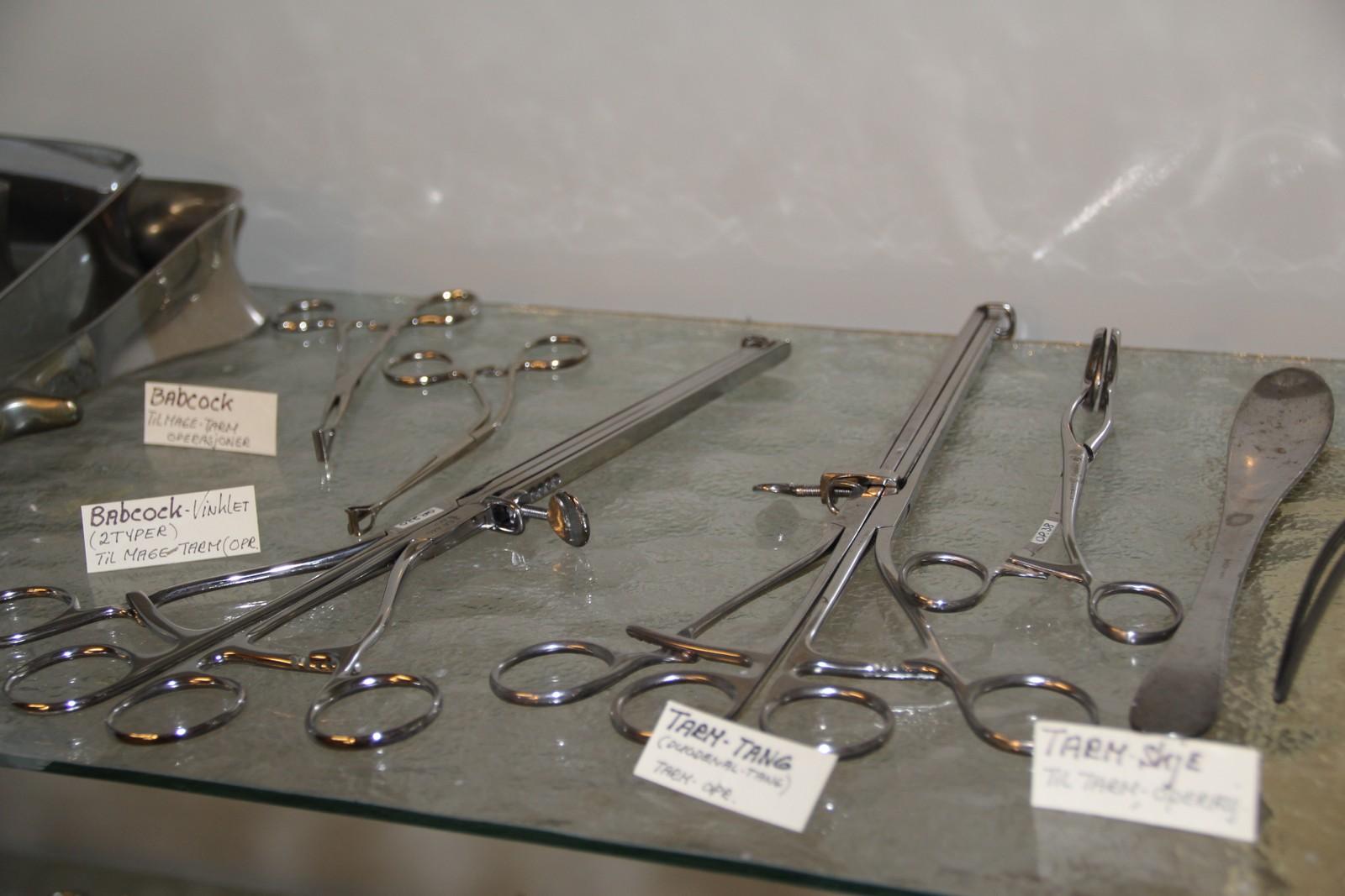 Instrumenter til tarmoperasjoner