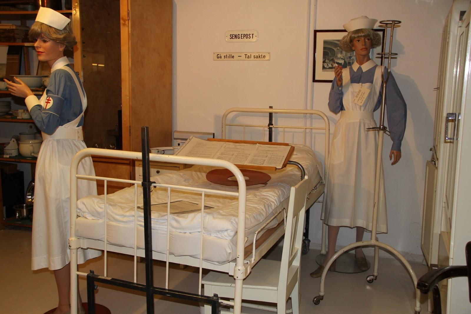 Sengepost ved anestesiavdelingen