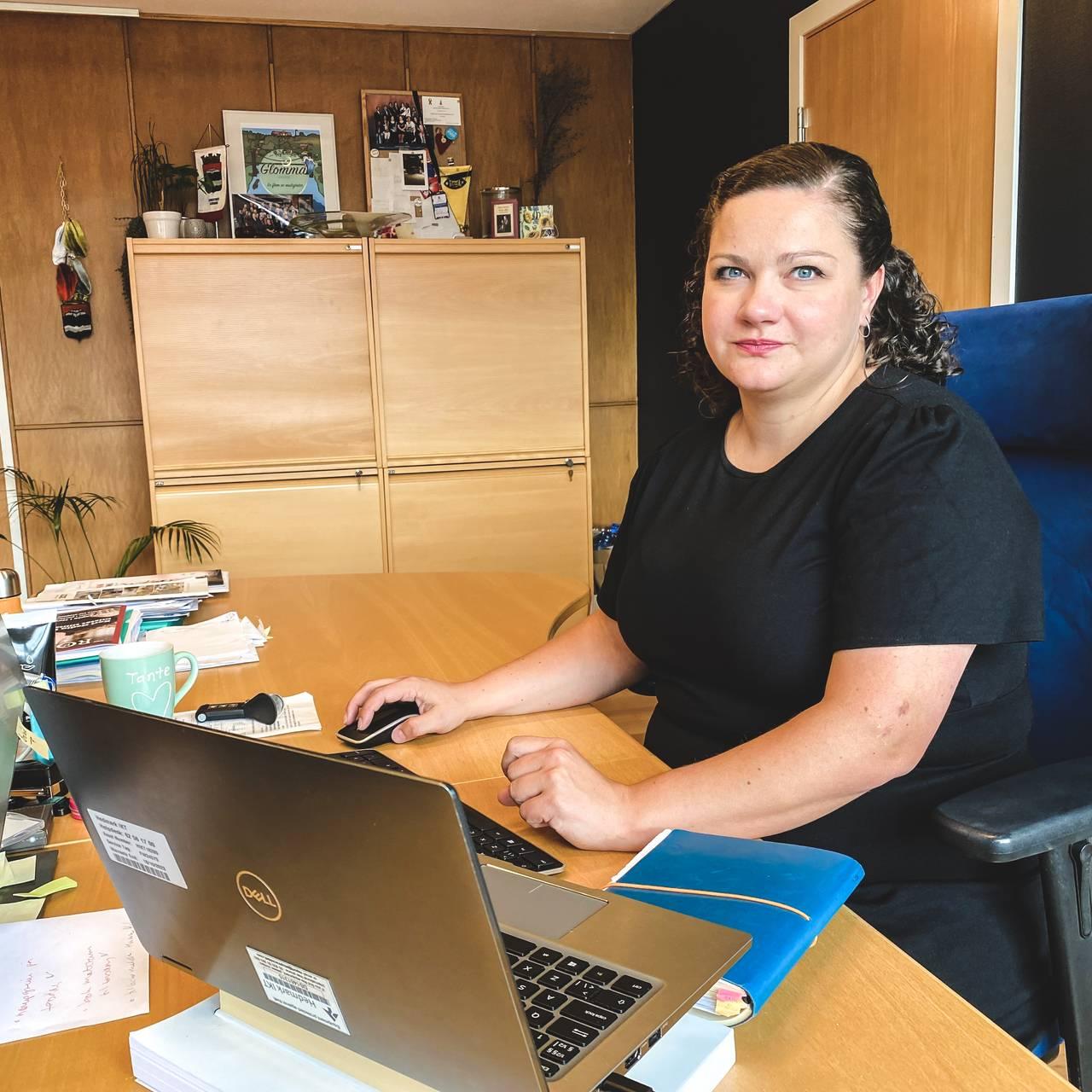 Sp-ordføreren i Kongsvinger, Margrethe Haarr.