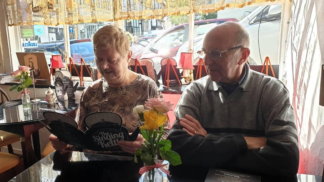 Dette er Albert Faqc og Gaby Herbosch sine feriebilder fra turen med Hurtigrutens Fridtjof Nansen i mars 2020. Lilian Harteveld og Johan Harteveld var også med på turen.