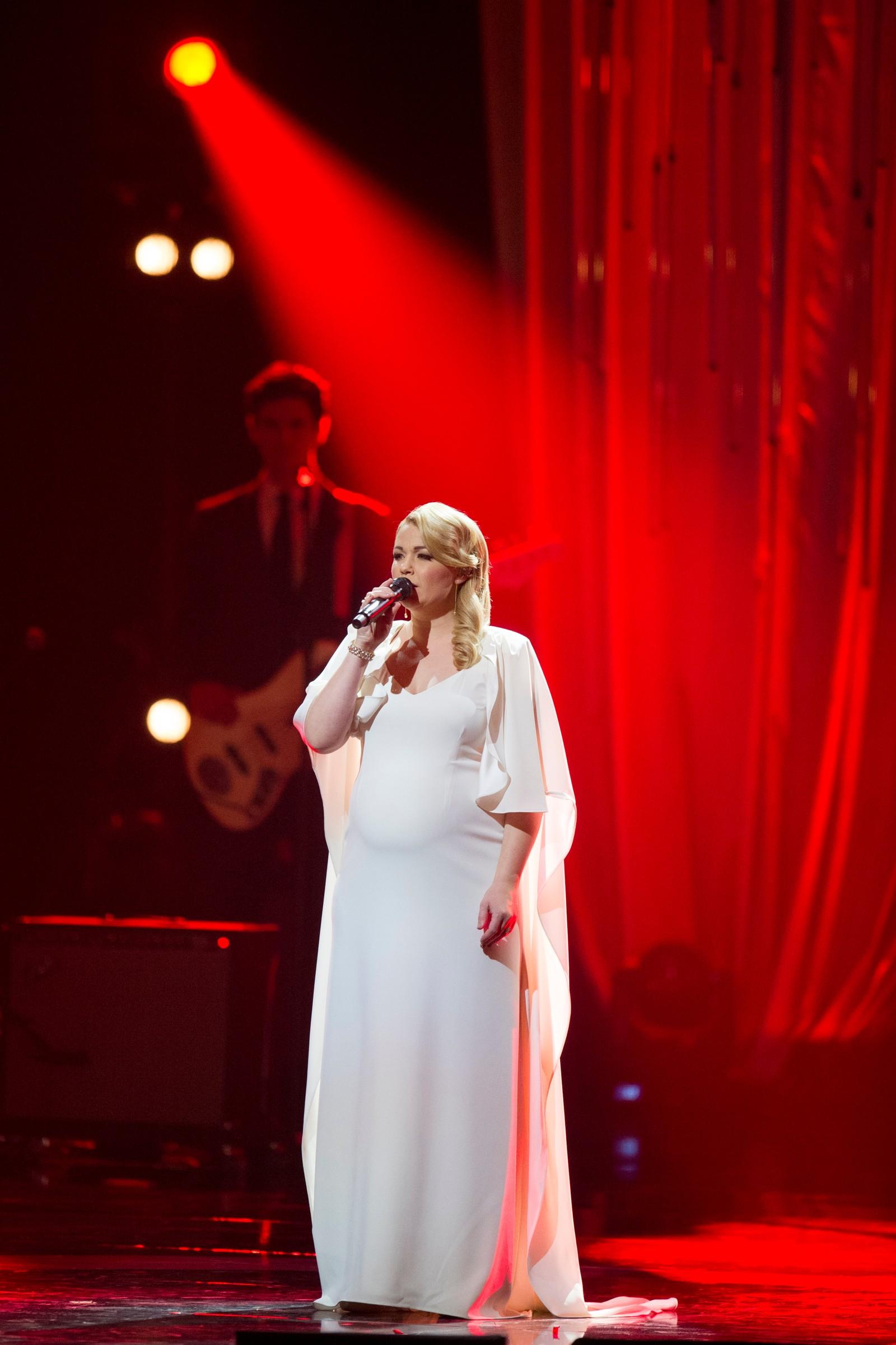 Maria Haukaas Mittet var også på scenen under Idrettsgallaen.
