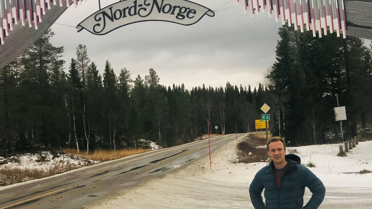 Bård Ludvig Thorheim ved Nord-Norge-porten