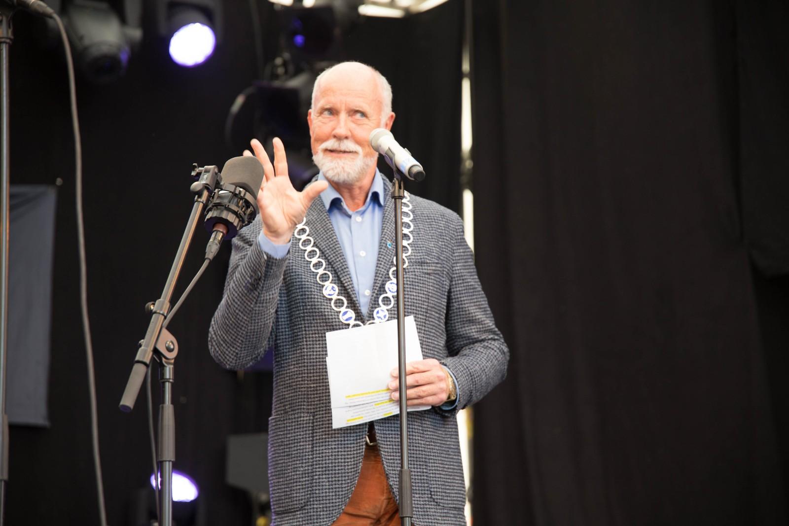– Moldejazz har preget minst to generasjoner, sa ordfører Torgeir Dahl. Han mener at Moldejazz har gjort Molde til en åpnere og mer inkluderende by.