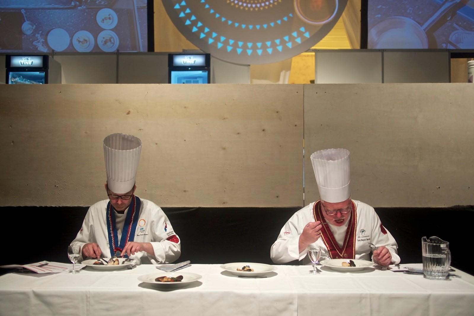Kokkene likte maten fra Vardø-kokken.
