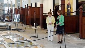 Gåva frå Kongen - Dronning Sonja fyller 80 år