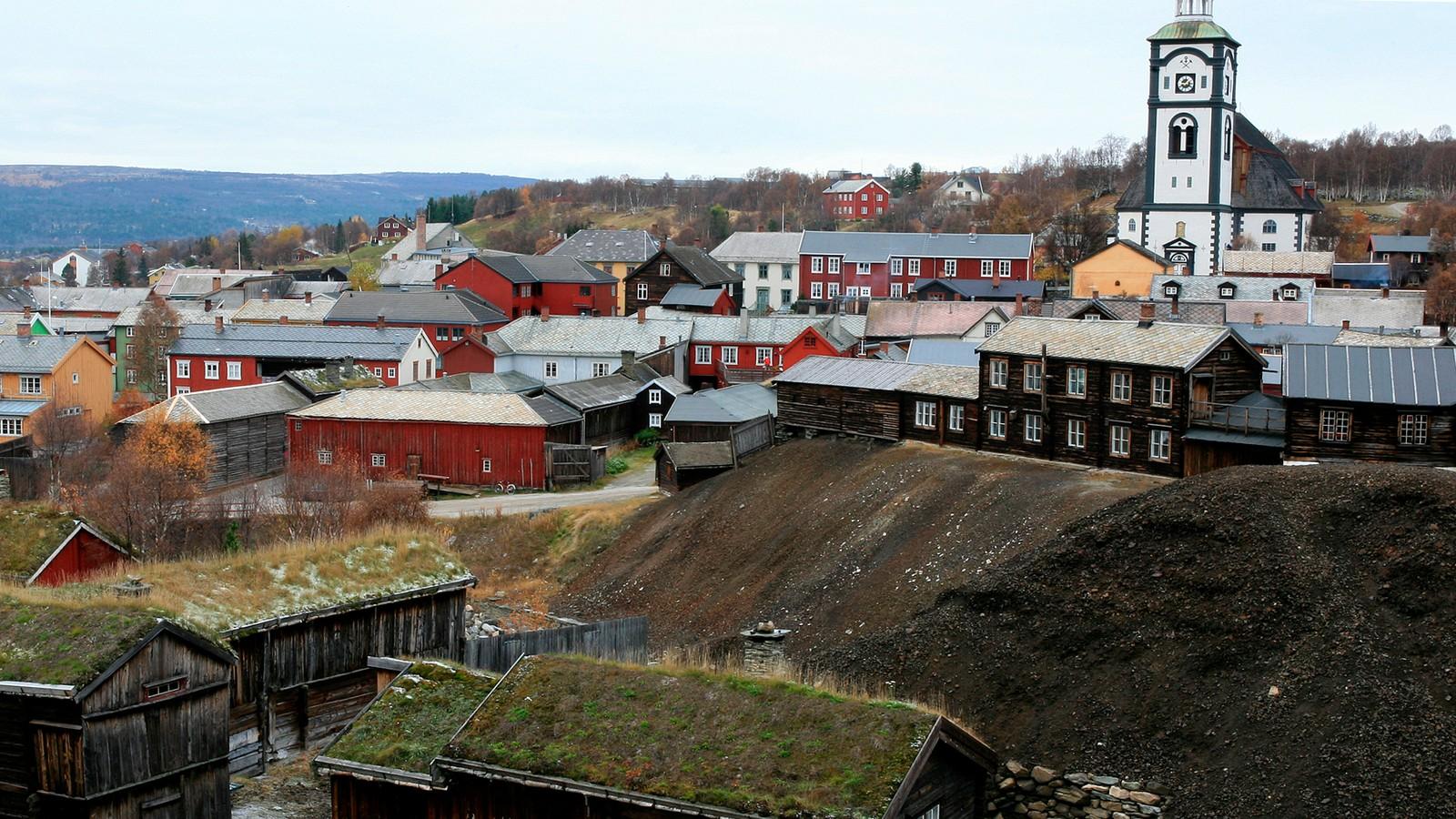 RØROS BERGSTAD: ble skrevet inn på Unescos verdensarvliste i 1980. I 2010 ble området utvidet til også å omfatte Circumferensen, områdene rundt bergstaden.