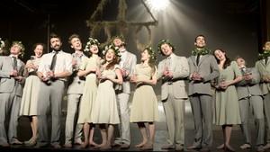 Hovedscenen - TV: Midtsommernattsdrøm - ballett av Alexander Ekman