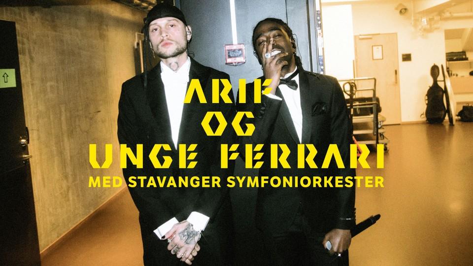 Arif og Unge Ferrari med Stavanger Symfoniorkester