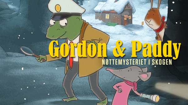 En nøttetyv herjer i skogen. Politimester Gordon og den lille musa Paddy legger ut på et vakkert og spennende eventyr for å løse mysteriet og gjenvinne skogens ro.