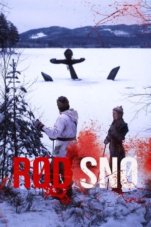 Rød snø