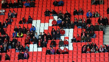 Publikumssvikt på Brann Stadion