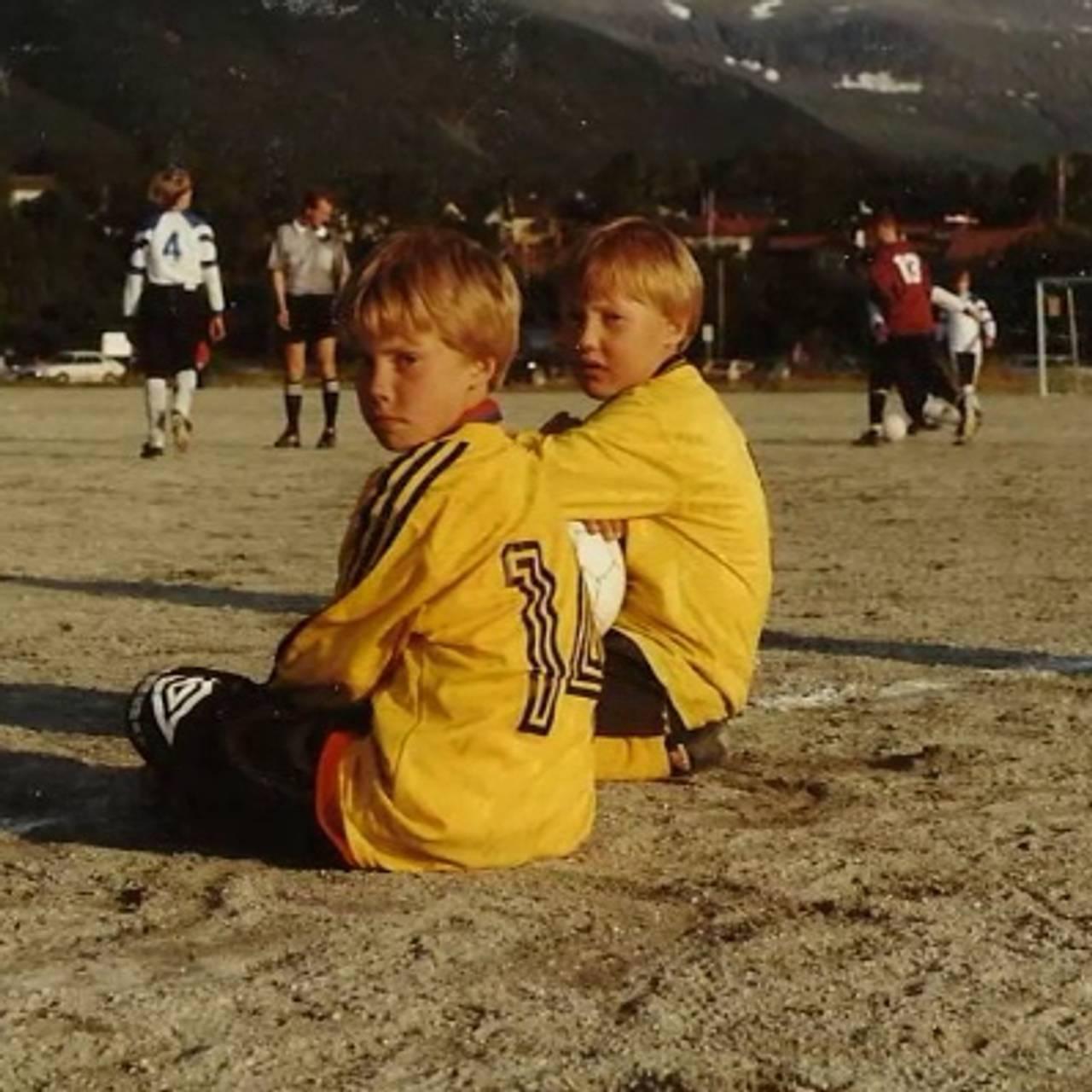 Anders og Bjørn på sidelinja