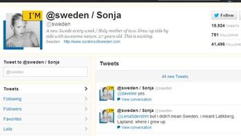 Sonja på @sweden