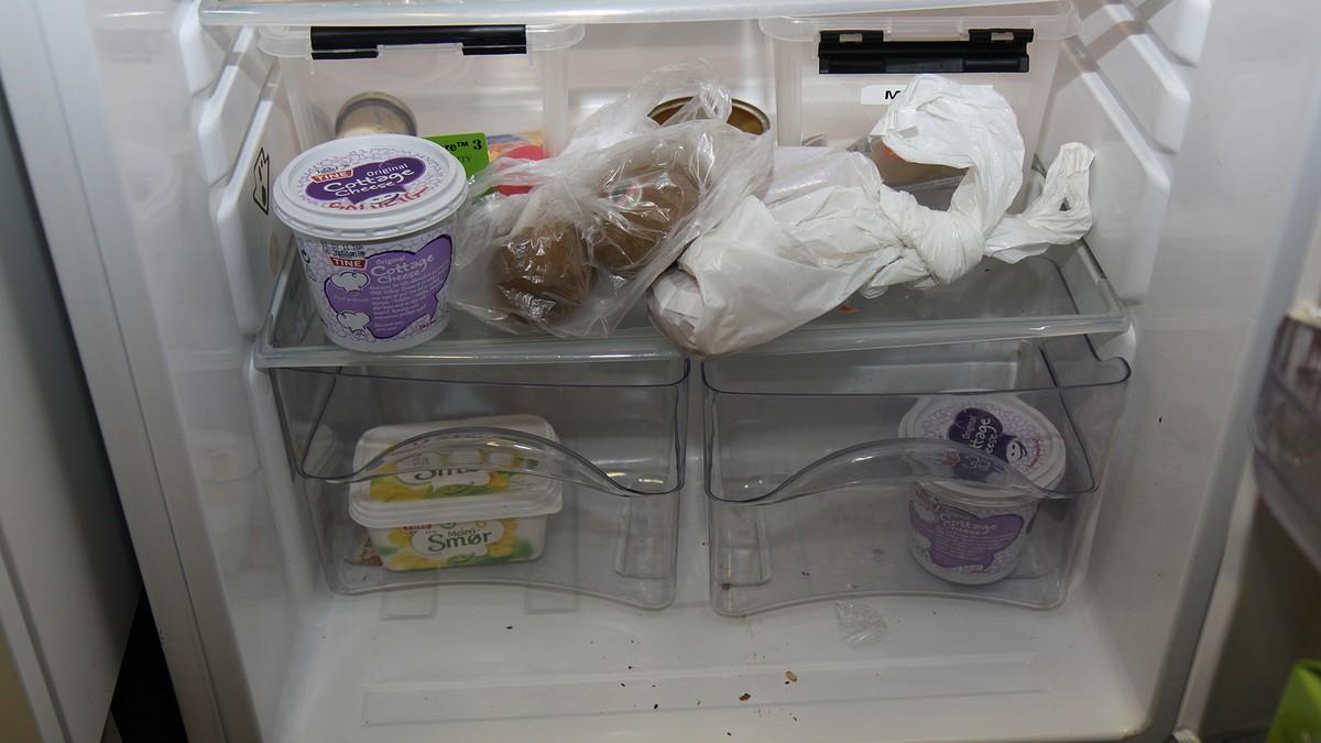 muggsopp i kjøleskapet