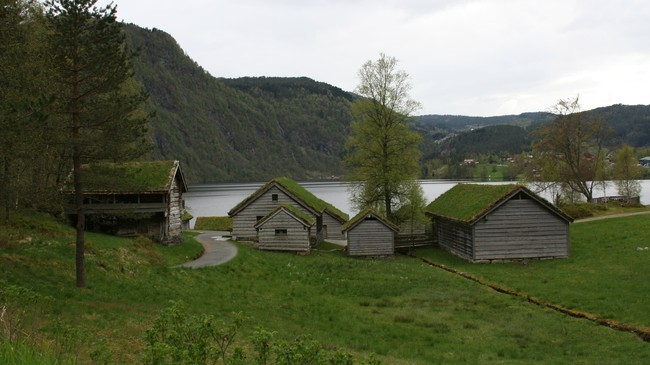 Sunnfjord Museum. Foto: Ottar Starheim, NRK.