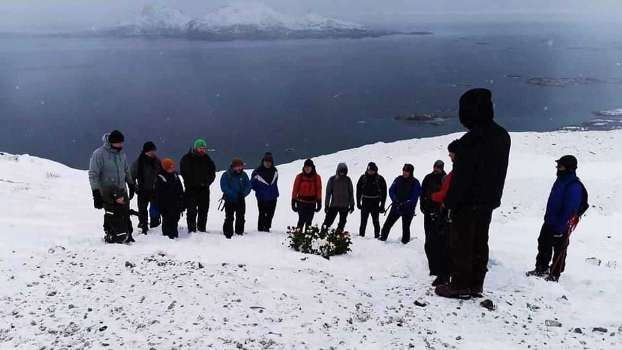 Minnestund for Henrik Holand Solø på Keiservarden