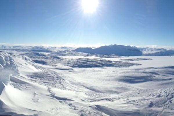 Utsikten fra toppen av Hellerfjellet -  Foto: Fotograf Uten Navn