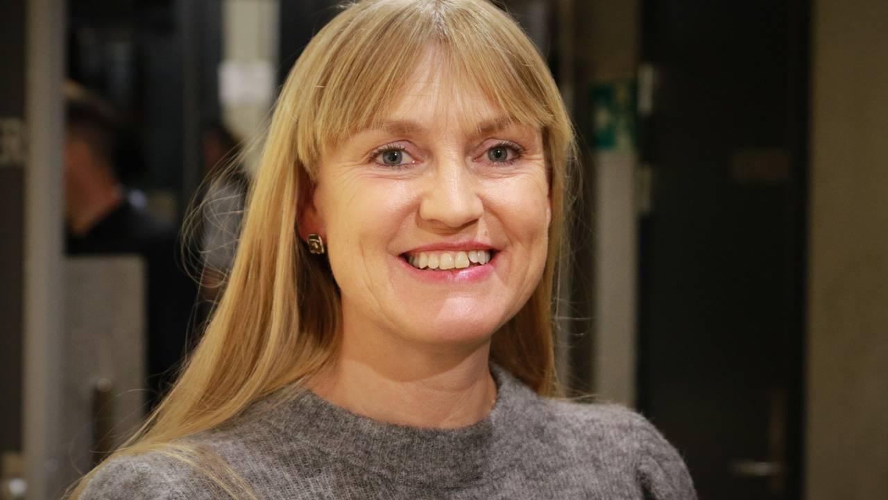 Grete Wold, førstekandidat for SV i Vestfold.