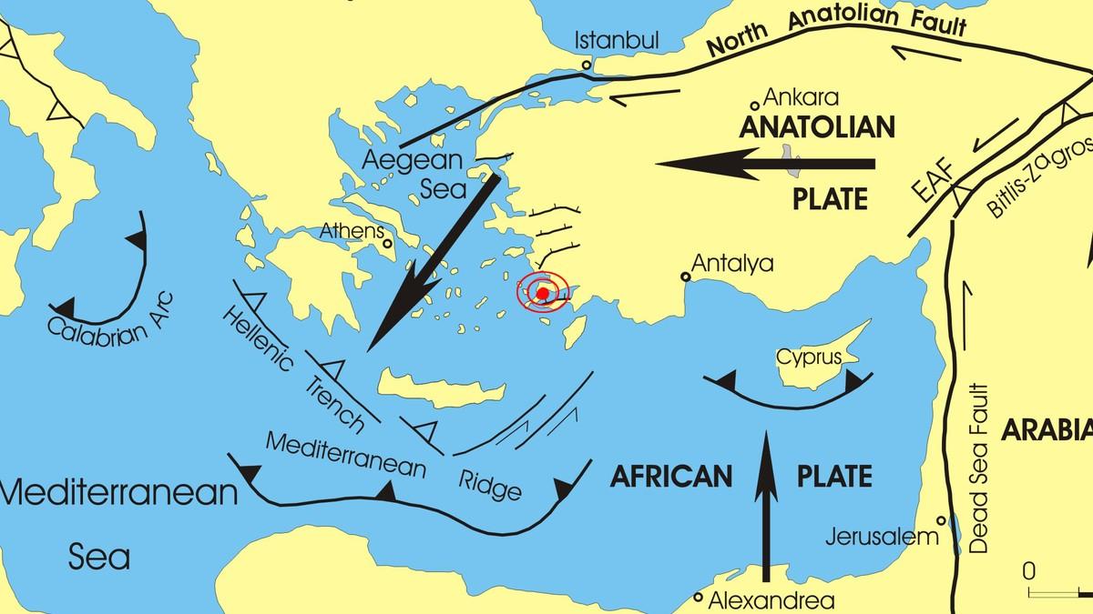 jordplater kart Derfor kommer det nye jordskjelv ved Middelhavet – NRK Urix  jordplater kart