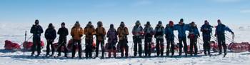 Deltakerne i Kampen om Sørpolen