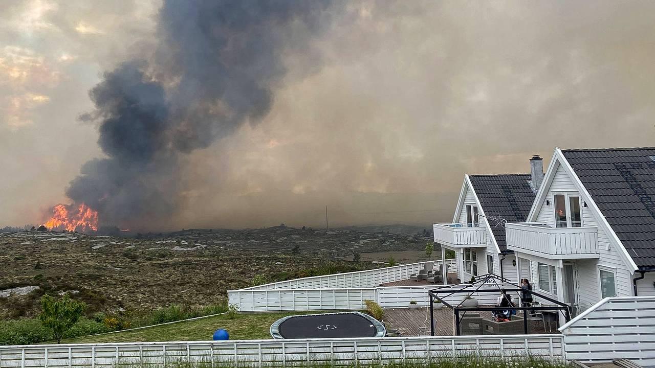 Like etterpå blir familien Bazou evakuert