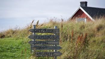 Turistsenter ble asylmottak.