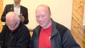 Ap og Tor Asgeir Johansen er valgets vinner i Tysfjord