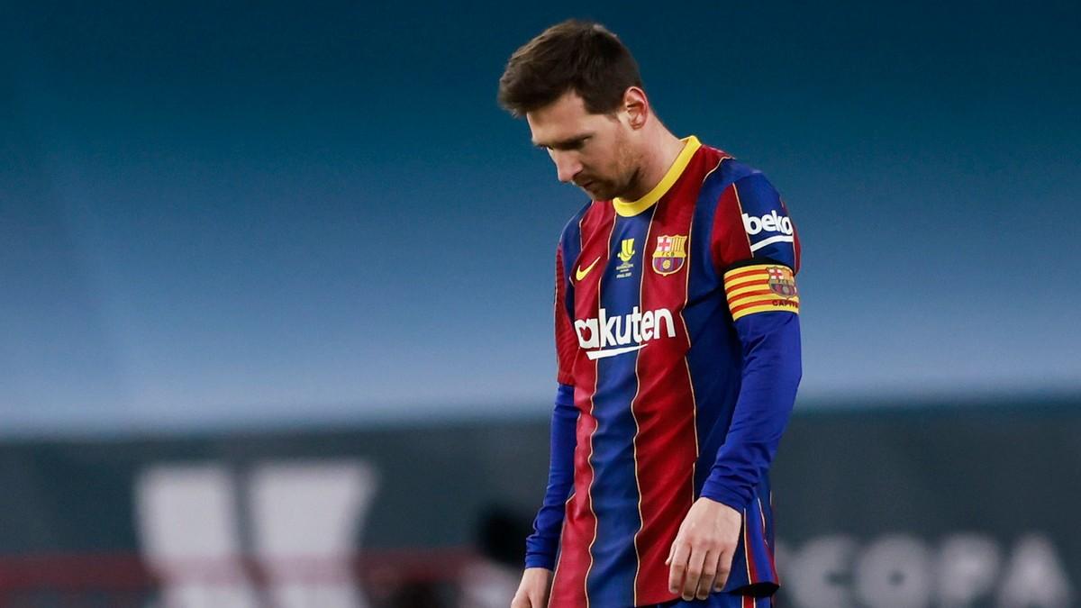 Messi utvist da Barca tapte