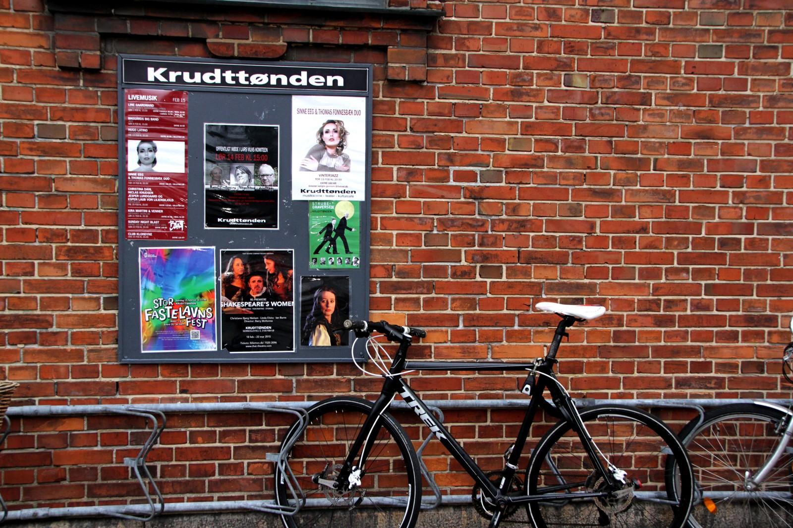 Rundt 50 personer var tilstede under debattmøtet med tittelen «Kunst, Blasfemi og Ytringsfrihed» i kulturhuset «Krudttønden» på Østerbro i København.