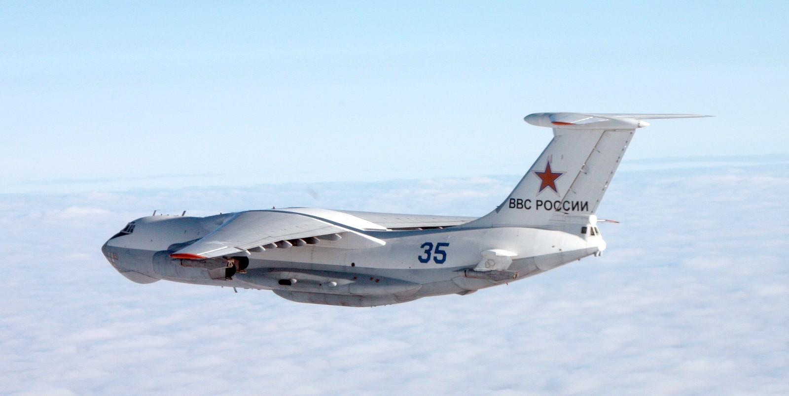 Ilyushin Il-78 (NATO-kallenavn Midas) er et firemotors lufttankfly basert på Il-76.