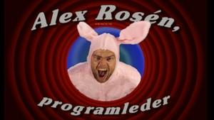 Alex Rosén, programleder