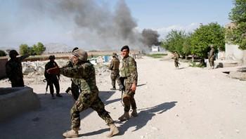 Afghanske soldater