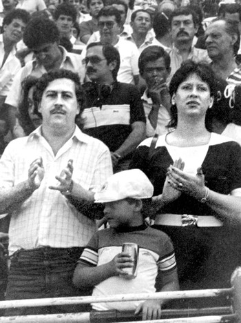 Pablo Escobar var i mange år den mektigaste narkobaronen i Colombia.