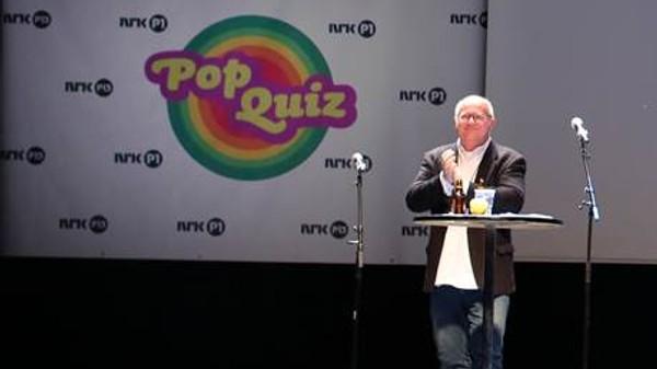 Popquiz med Finn Bjelke
