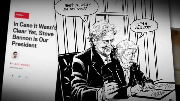 – Bannon ser Trump som et middel for å nå målet sitt